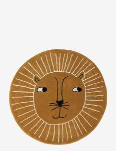 Lion Rug - interiør - caramel