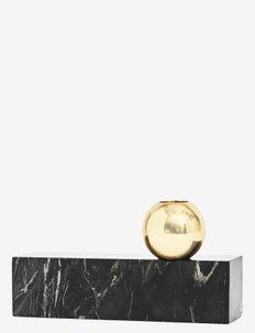Tangent Candleholder - Low - interiør - black