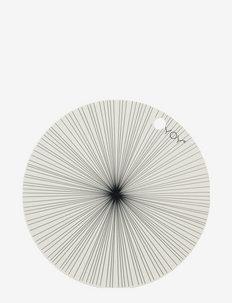Placemat Ray - Pack of 2 - bordbrikker, glassunderlag & bordskånere - offwhite