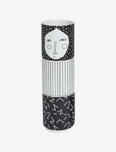 Egg People - Woman - eggeglass - white / black