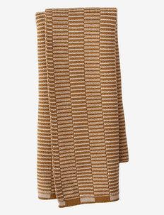 Stringa Mini Towel - keittiöpyyhkeet - caramel / rose