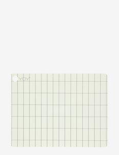 Placemat Kukei - 2 Pcs/Pack - bordbrikker, glassunderlag & bordskånere - offwhite