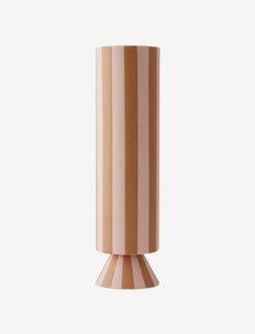 Toppu Vase - High - shop etter pris - caramel