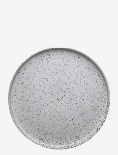 Inka Dinner Plate, Pack of 2 - ruokalautaset - white / light brown