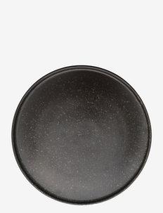 Inka Dinner Plate, Pack of 2 - ruokalautaset - brown