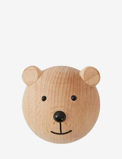 Mini Hook - Bear - sisustus - nature