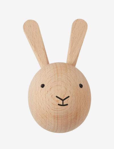 Mini Hook - Rabbit - sisustus - nature