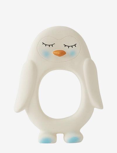Penguin Baby Teether - purulelut - white