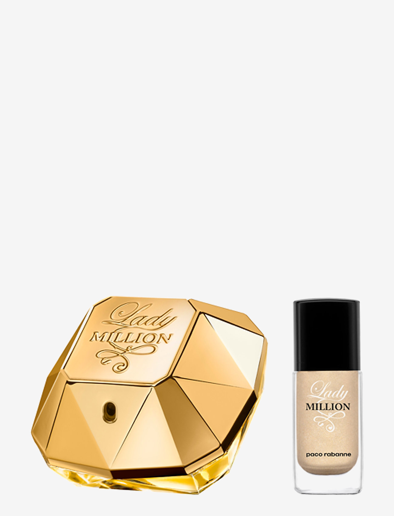 Paco Rabanne - LADY MILLION EDP /NAIL - tuoksusetit - no color - 1