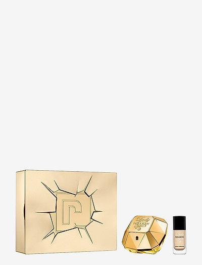 LADY MILLION EDP /NAIL - parfymesett - no color