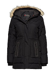 PA TAYLOR FAUX FUR - BLACK