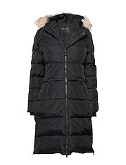 PA JAYDE FAUX FUR - BLACK/CRYSTAL