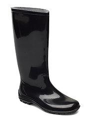 ELEGANT rainboots - BLACK