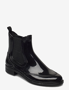 CHELSEA style rainboots - kalosze - black