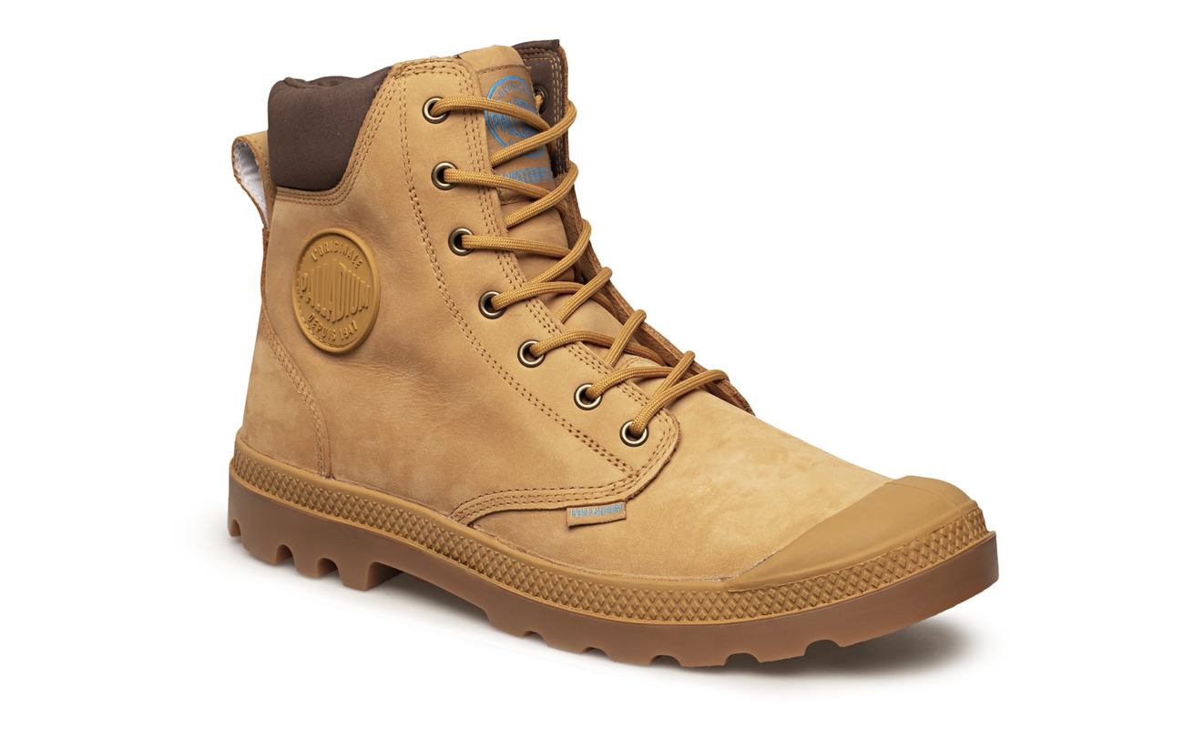 Palladium Pampa Cuff WP LUX - AMBER GOLD