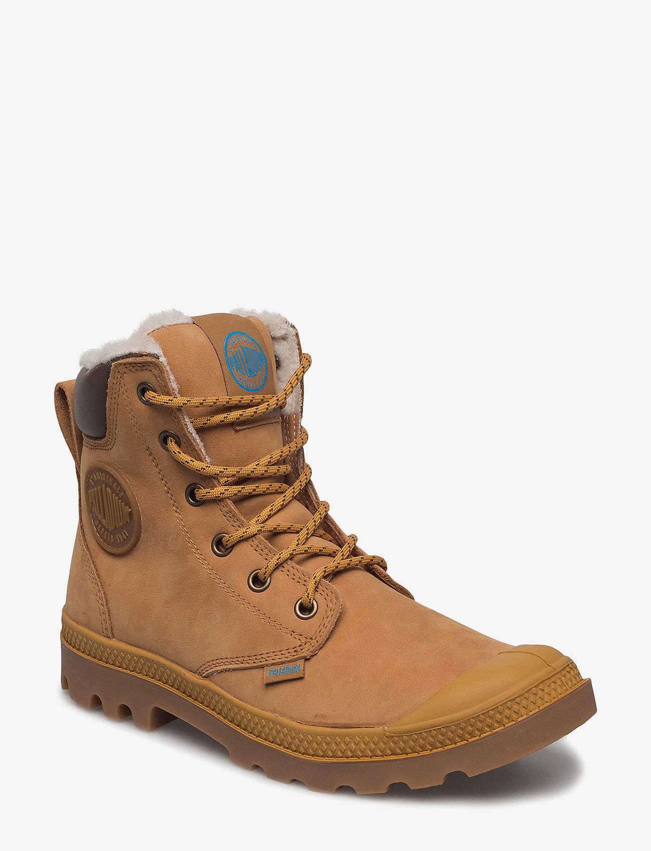Palladium - Pampa Sport Cuff WPS - winter boots - amber gold - 0
