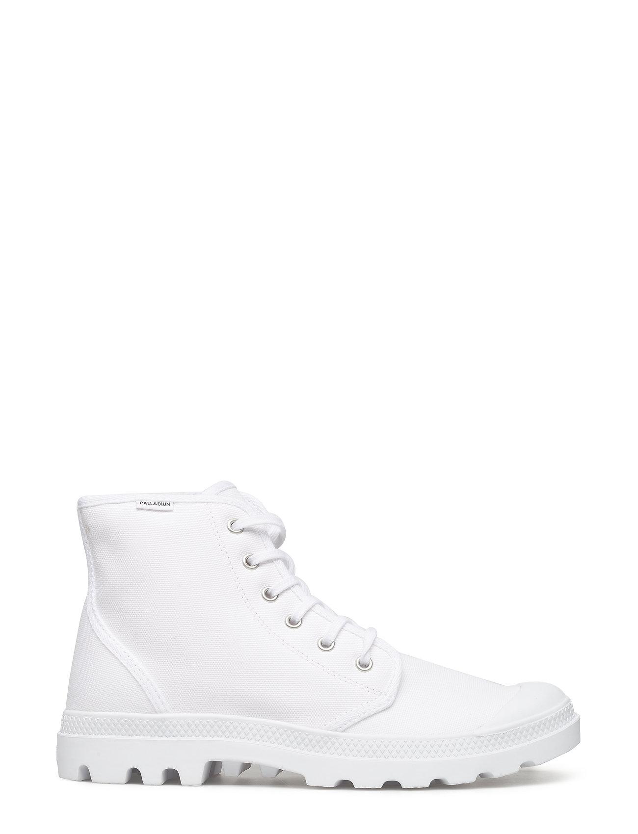 Pampa Hi Orginale High-top Sneakers Hvid Palladium