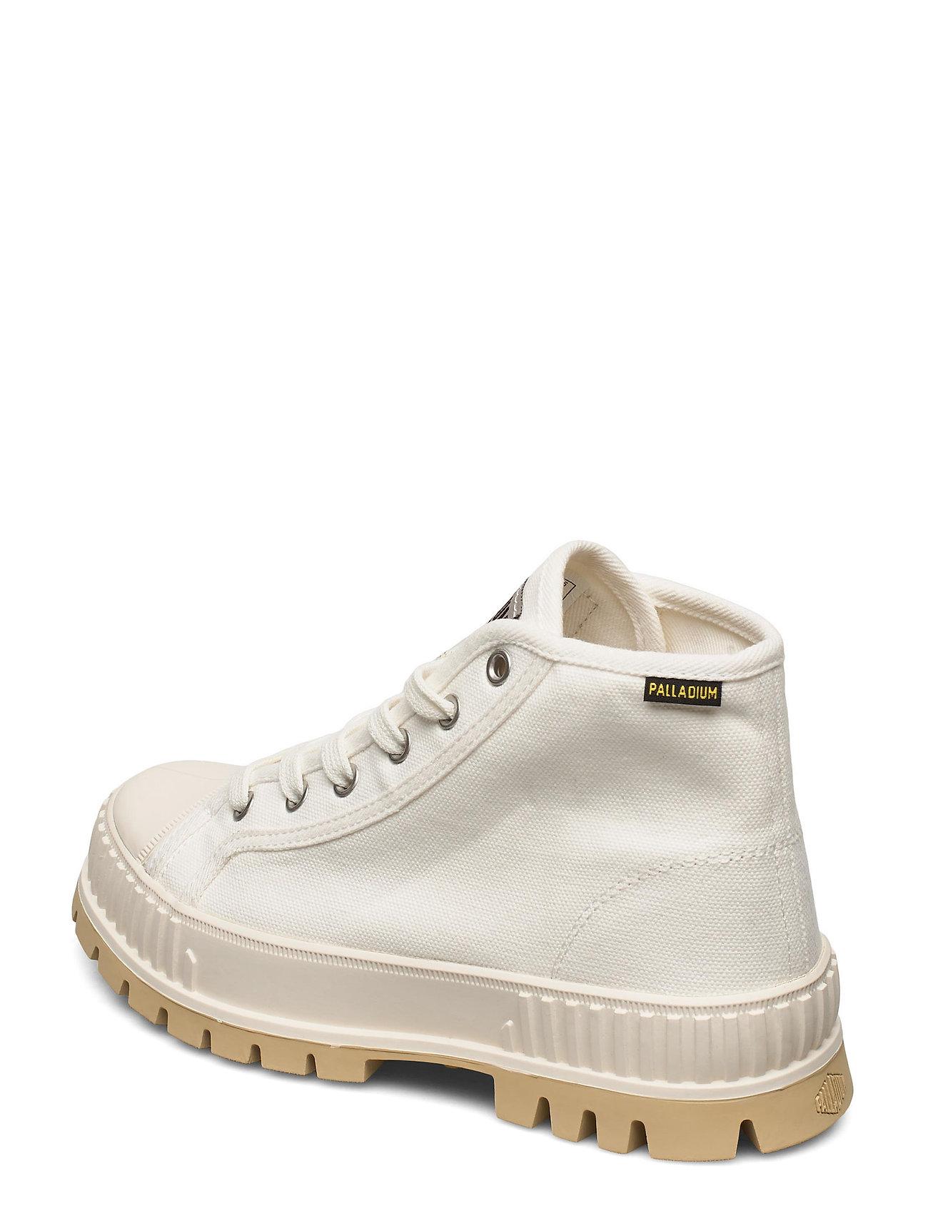 Pallashock Mid Og High-top Sneakers Creme Palladium