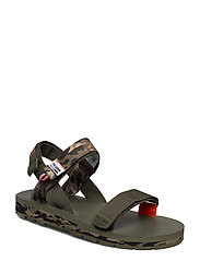 Outdoorsy Strap Camo - OLIVE NIGHT CAMO