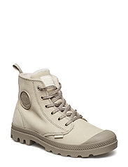 Pampa Hi Wool Zip - FEATHER GRAY