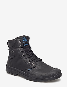 Pampa Sport Cuff WPN2 - laced boots - black