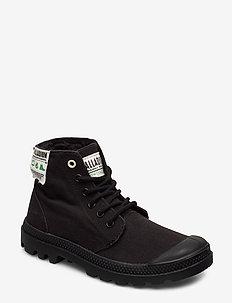Pampa Hi Organic - sneakersy wysokie - black