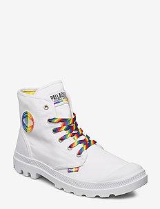 Pampa Pride - WHITE/RAINBOW