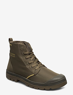 Pampa Lite+Rcycl WP+ - laced boots - dusky green
