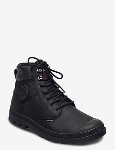 Pampa Shield WP+ LTH - platta ankelboots - black