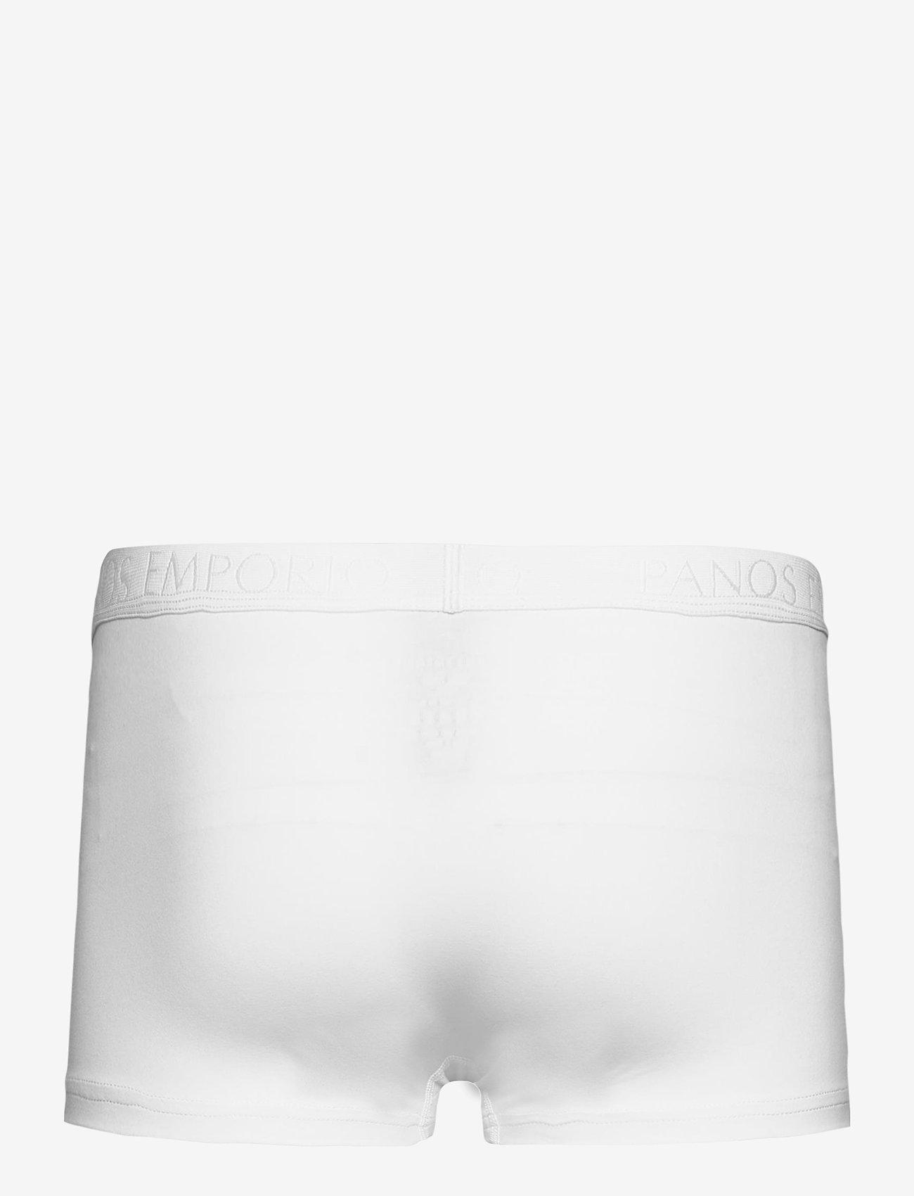 Panos Emporio - PANOS EMPORIO ORGANIC COTTON TRUNK - caleçon - white - 2