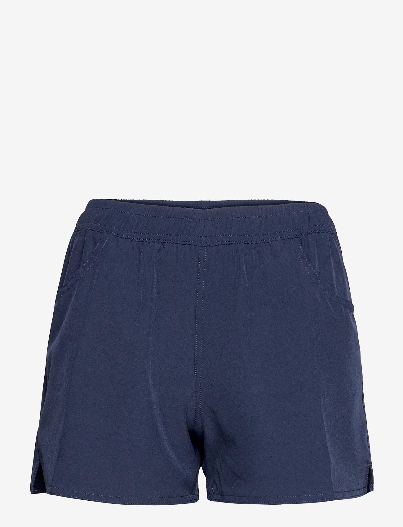 Panos Emporio - PANOS EMPORIO LUCCA SOLID SHORTS - shorts casual - navy - 0