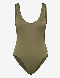 PANOS THYME SIENNA SWIMSUIT BLACK FOREST 36 - badedragter - black forest