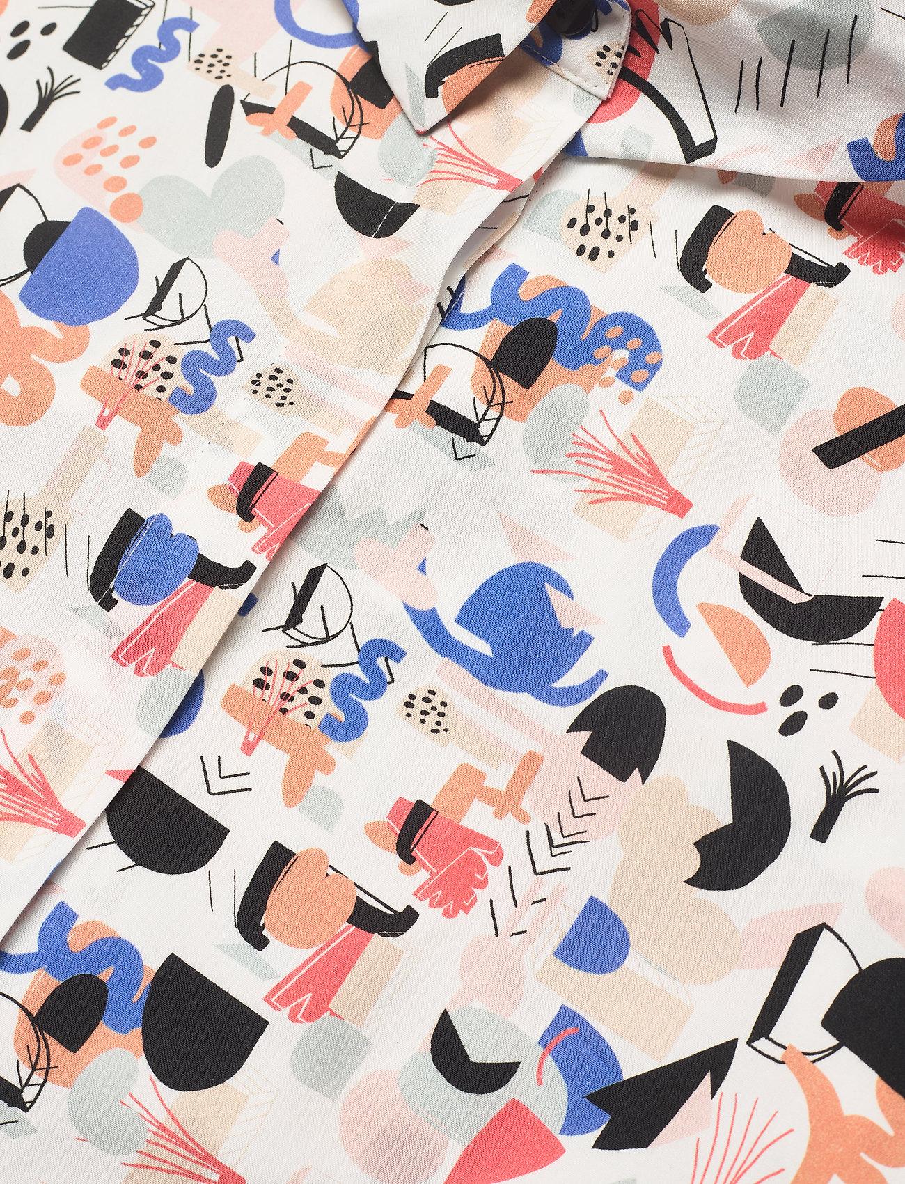 Papu - Boheme shirt Imagenation - kortærmede skjorter - multicolor - 2