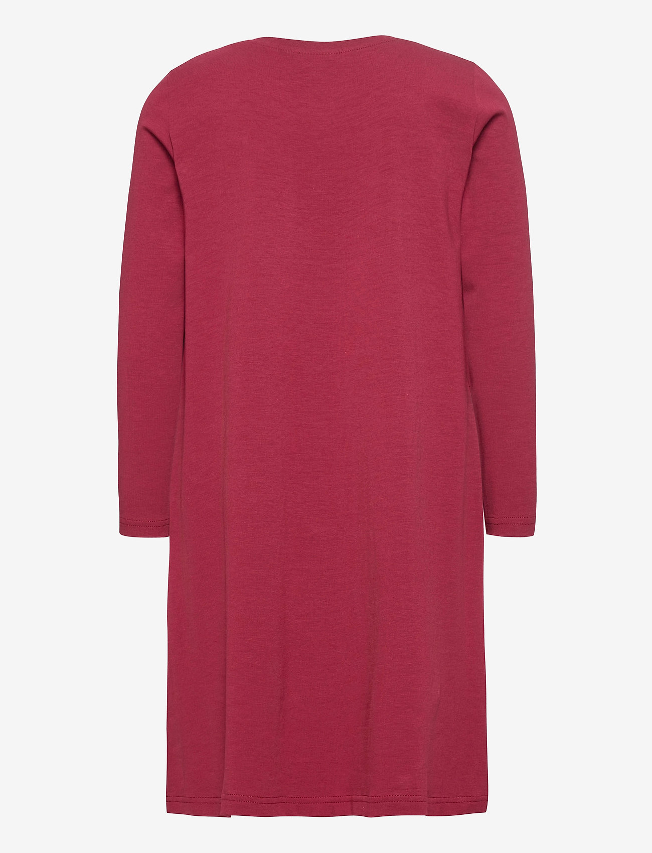 Papu - WAVE DRESS - kleider - deep red - 1