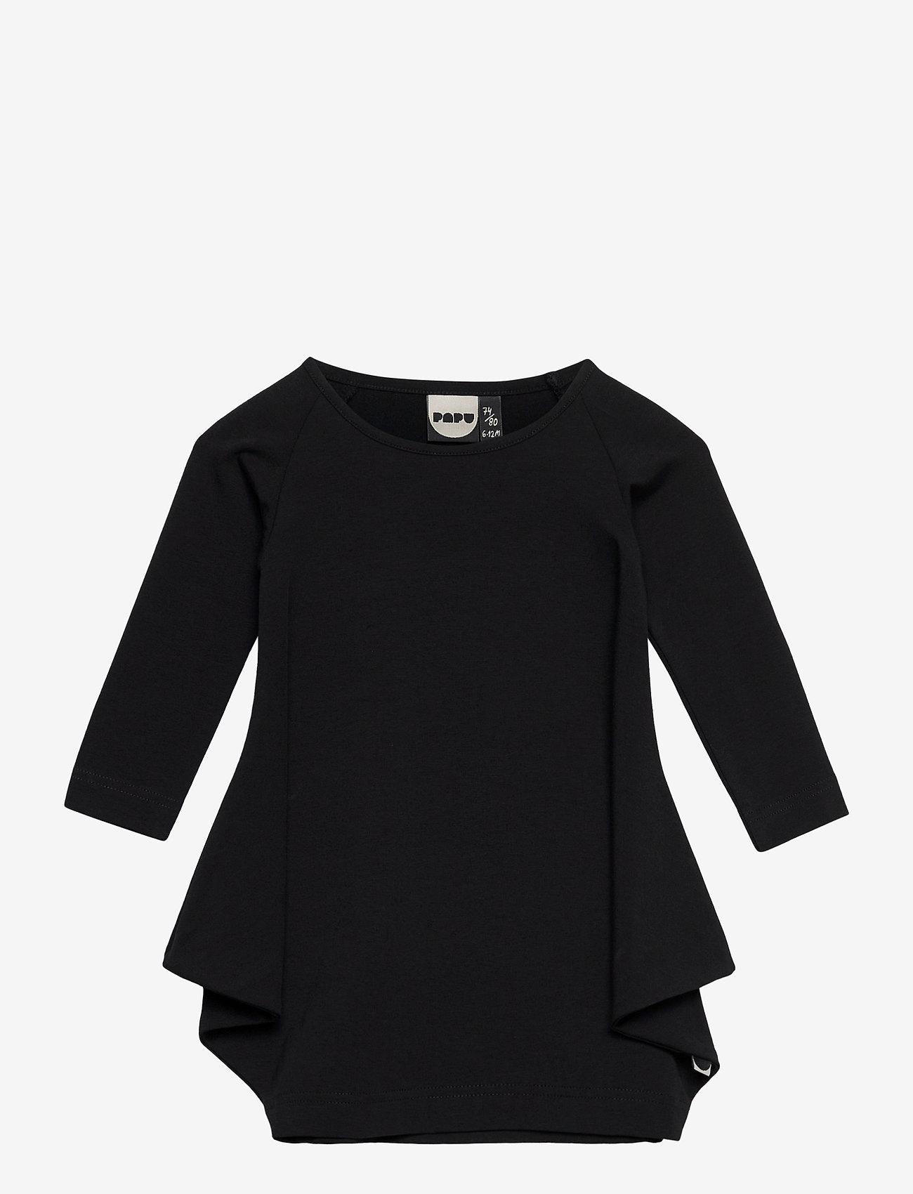 Papu - KANTO DRESS KID - kleider - black - 0