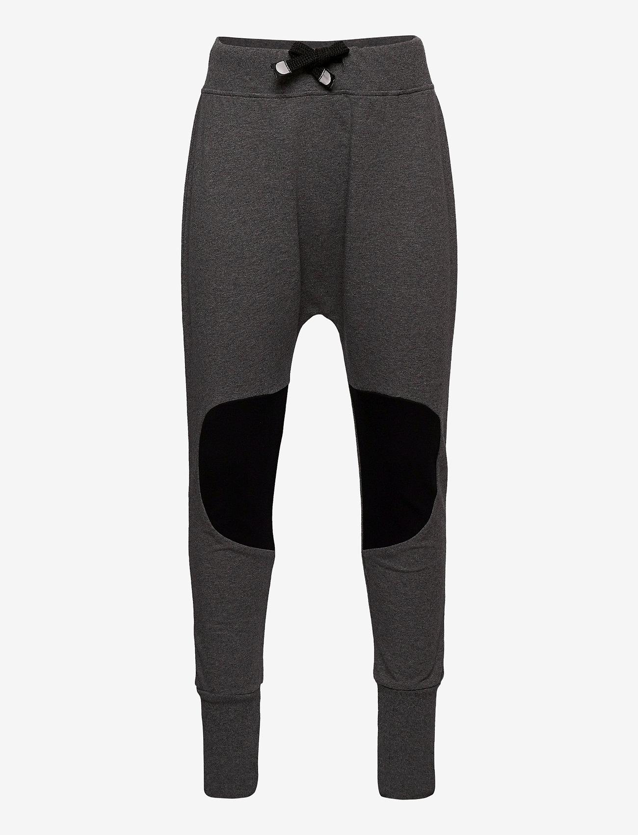 Papu - PATCH BAGGY KID - jogginghosen - melange grey - 0