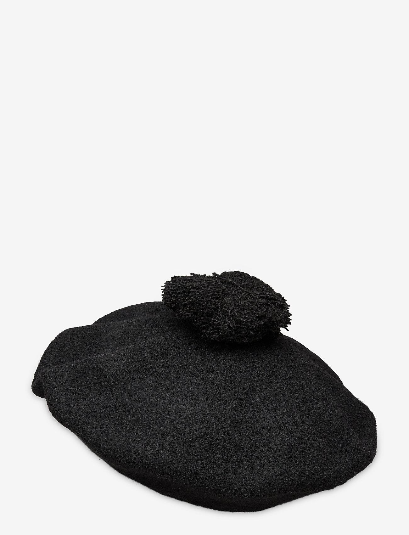 Papu - POM POM BERET - beanie - black - 1