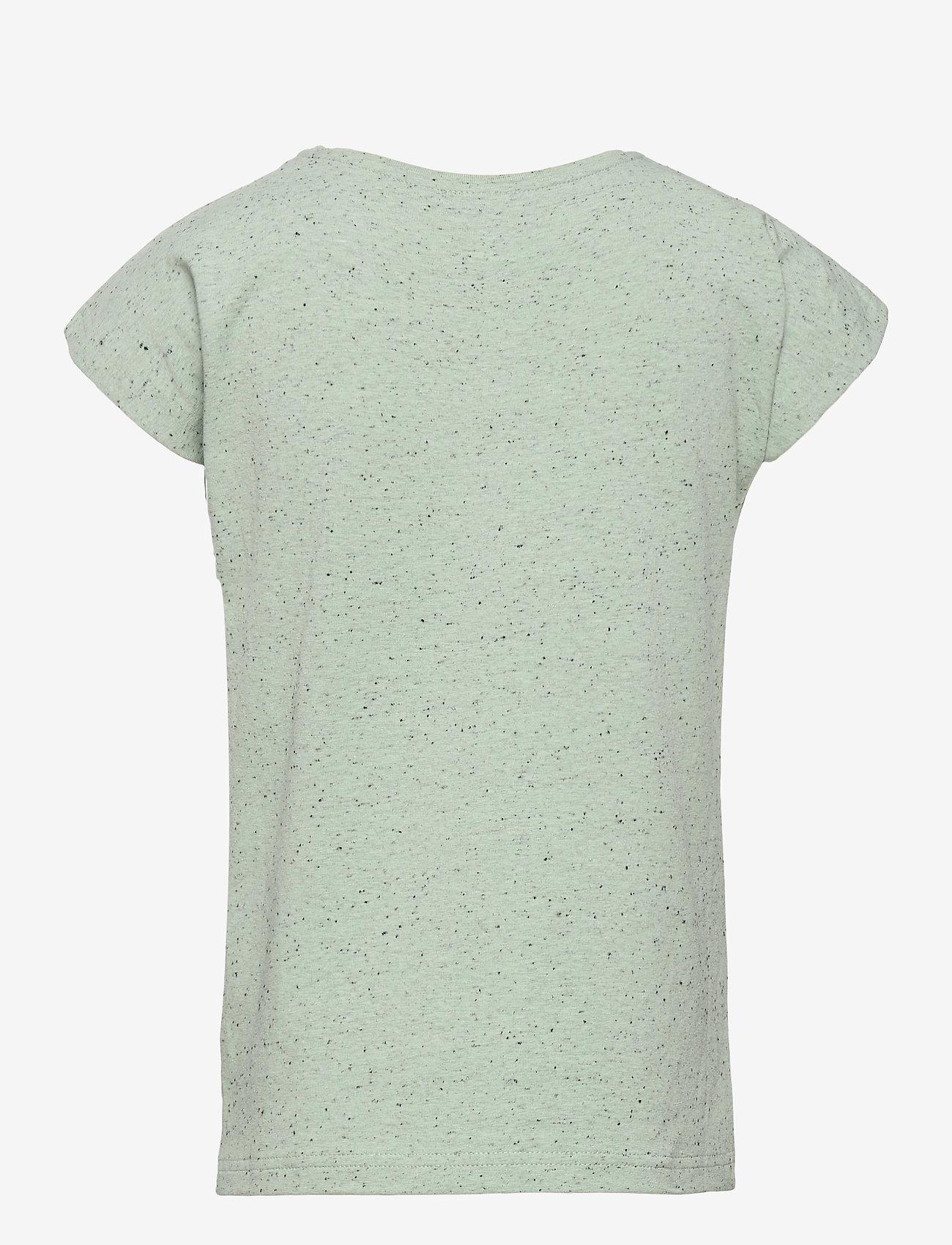Papu - T-top Stranger - t-shirts - melange green - 1