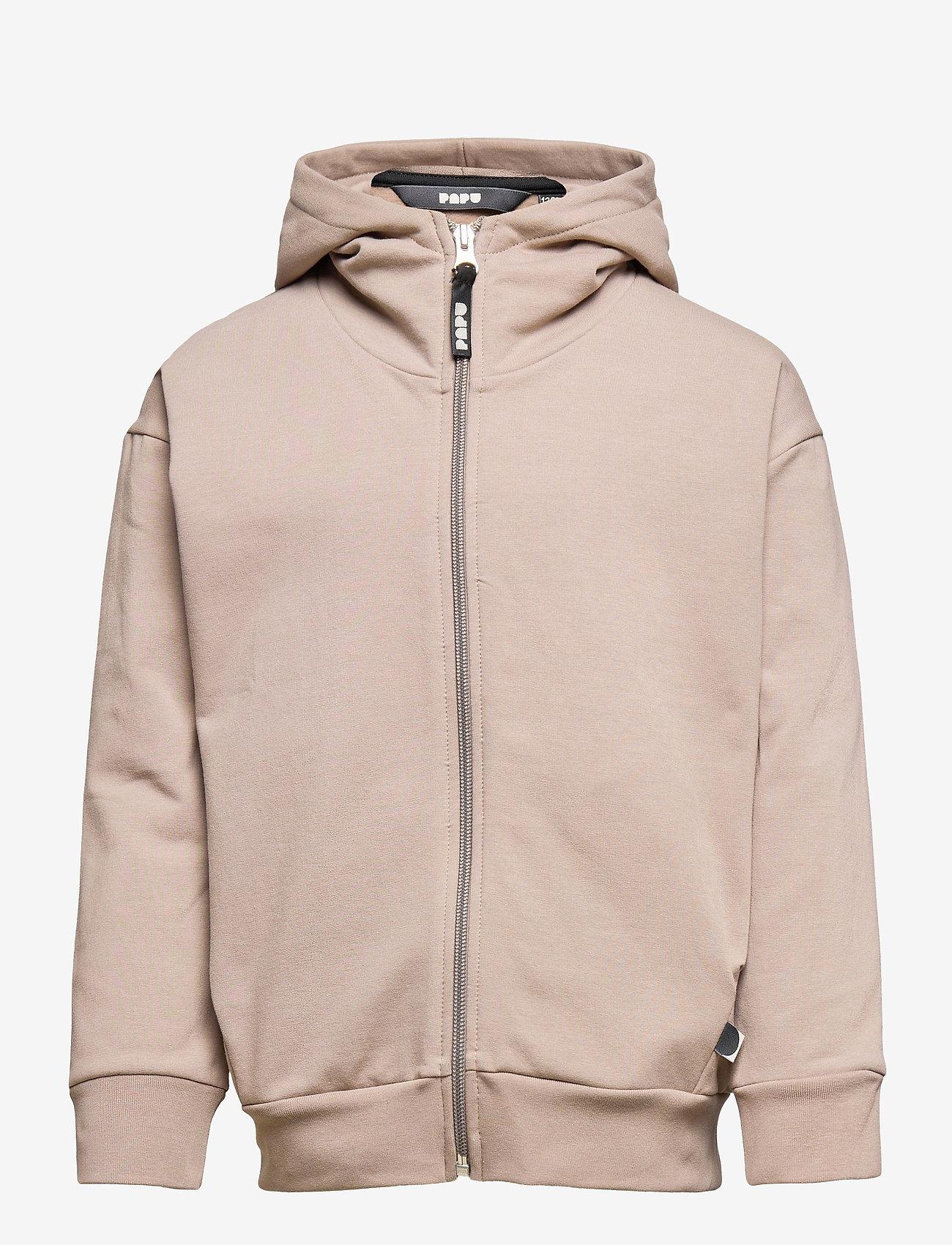 Papu - Pivot zip hoodie - kapuzenpullover - vole grey - 0