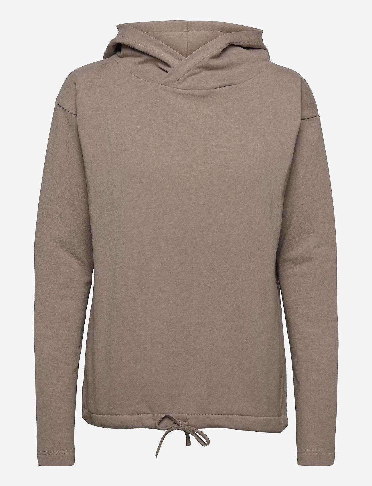 Papu - Pivot hoodie - sweatshirts & hættetrøjer - vole grey - 0