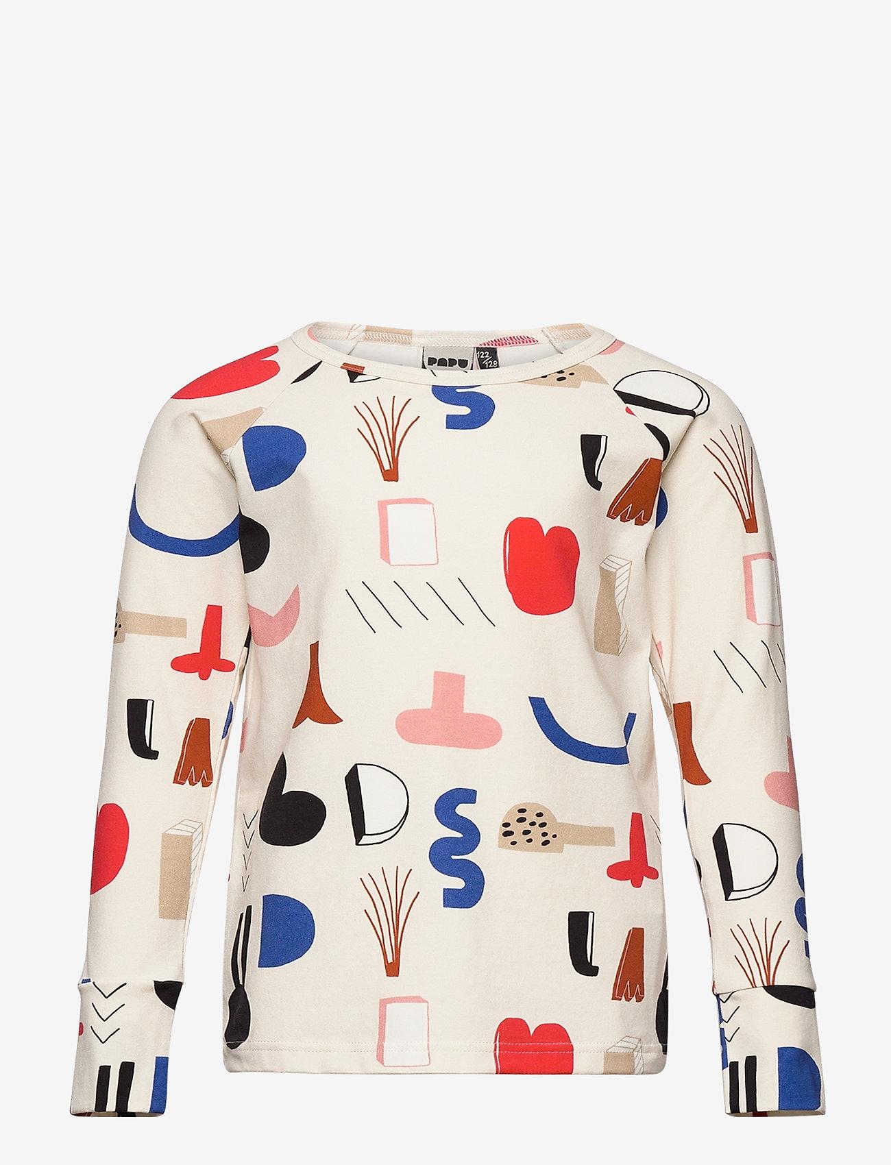 Papu - Fold shirt Secret Worlds - langärmelig - multicolor - 0