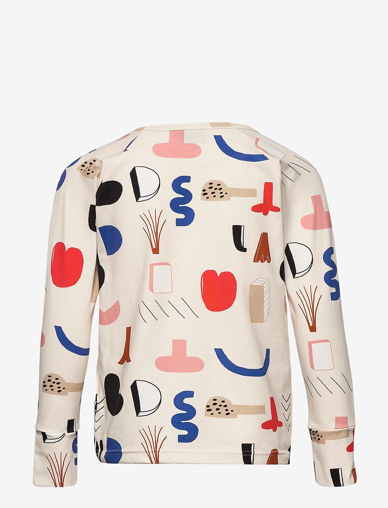 Papu - Fold shirt Secret Worlds - langärmelig - multicolor - 1