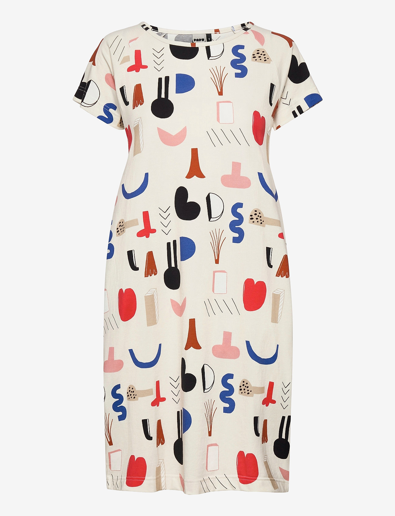 Papu - Kanto short sleeve dress Secret Worlds - sommerkjoler - multicolor - 0