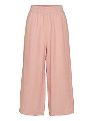 Linen culotte Free - MUTED RED