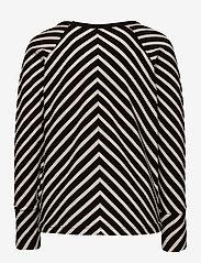 Papu - STRIPE SHIRT KID - sweatshirts - black, sand - 1