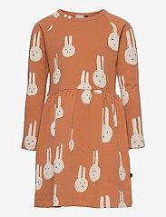 Papu - Gather dress Best Bunnies - kleider - multicolor - 0