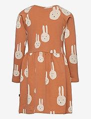 Papu - Gather dress Best Bunnies - kleider - multicolor - 1