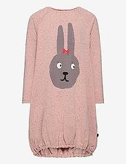 Papu - Pounch dress Bunny - kleider - melange pink - 0