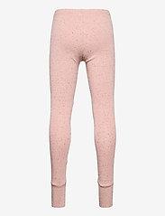 Papu - Patch leggings - leggings - melange pink - 1