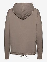 Papu - Pivot hoodie - sweatshirts & hættetrøjer - vole grey - 1